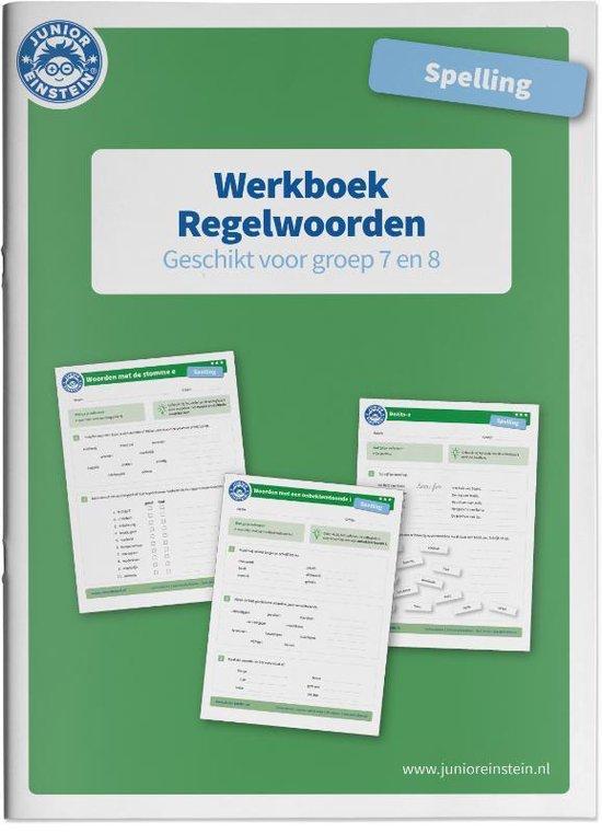 Werkboek Spelling Regelwoorden groep 7 en 8 - none | Readingchampions.org.uk