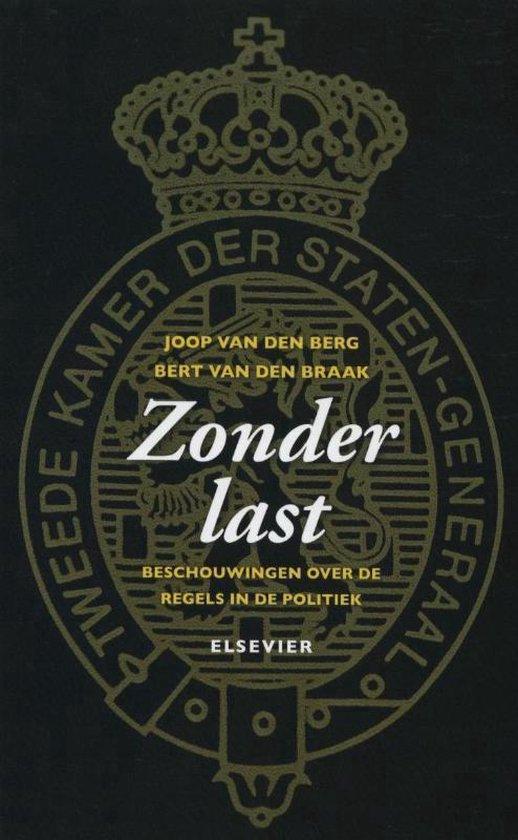 Zonder last - Joop van den Berg |