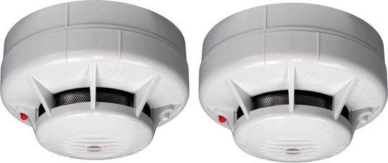 Fito ASD-10 Mini Rookmelder - Duopack - Batterij levensduur 10 jaar