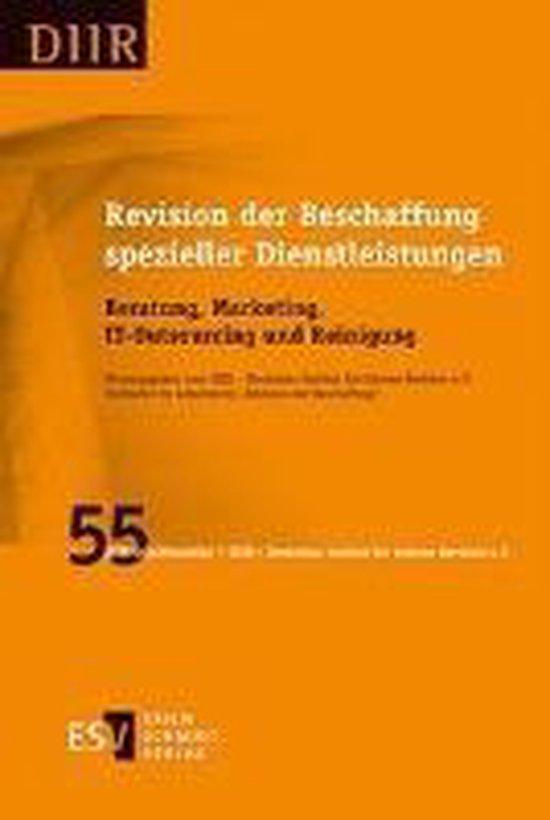 Revision der Beschaffung spezieller Dienstleistungen