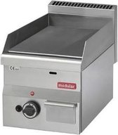 Modular 600 Bak/grillplaat glad gas
