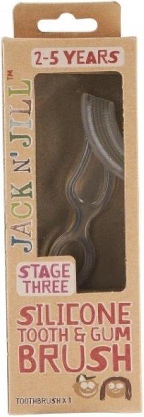 Jack N' Jill - Siliconen tandenborstel voor kinderen van 2 tot 5 jaar