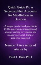 Quick Guide IV: A Scorecard that Accounts for Mindfulness in Business