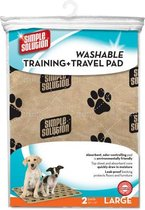 Simple solution wasbare puppy training pads 2 st 76x81 cm