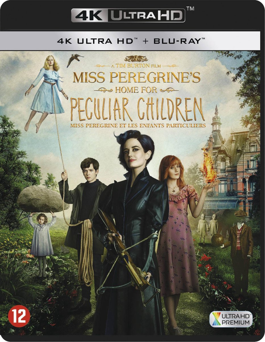 Miss Peregrine's Home for Peculiar Children (4K Ultra HD Blu-ray)-
