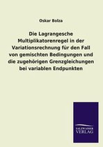 Die Lagrangesche Multiplikatorenregel in Der Variationsrechnung Fur Den Fall Von Gemischten Bedingungen Und Die Zugehorigen Grenzgleichungen Bei Varia