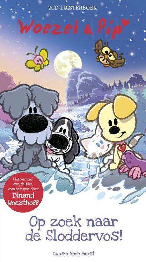 Woezel & Pip - Op zoek naar de Sloddervos 2CD's (luisterboek)