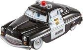 Afbeelding van Cars Basic Die-cast Sheriff - Speelgoedauto