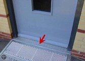 Verbindingsprofiel t.b.v. Miniramp oprit - Om aan te sluiten tussen deur en oprit