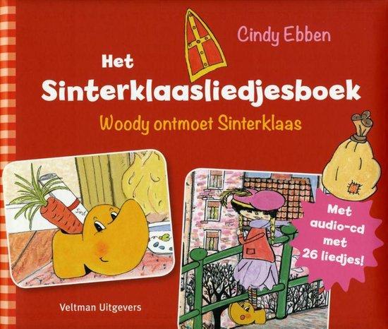 Het Sinterklaasliedjesboek + Audio cd met 26 liedjes - Cindy Ebben |