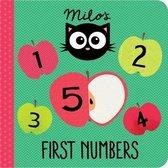 Boek cover Milos First Numbers van Rowena Blyth
