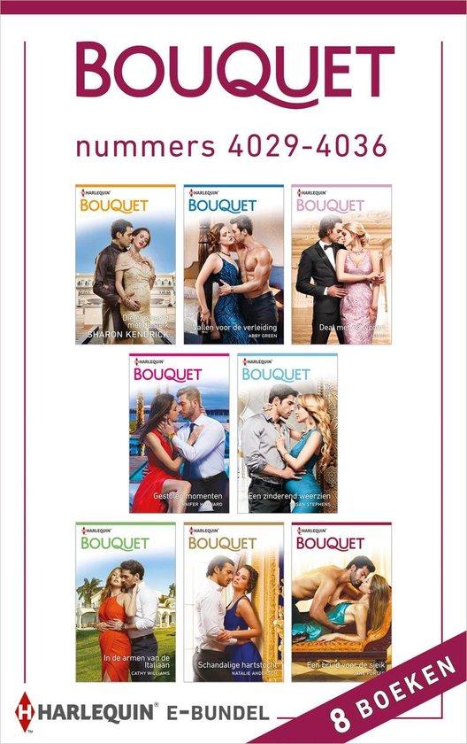 Bouquet e-bundel nummers 4029 - 4036 - Sharon Kendrick |