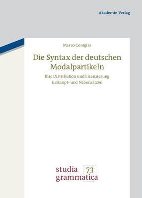 Die Syntax der deutschen Modalpartikeln