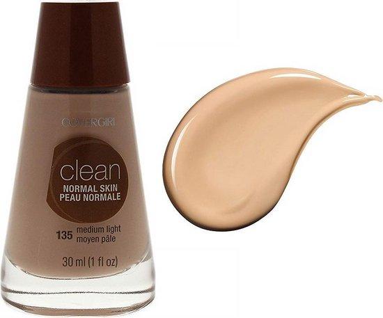 Covergirl Clean Normal Skin Foundation – 135 Medium Light