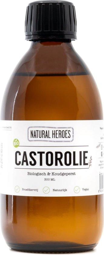 Castorolie (Biologisch & Koudgeperst) 100ml