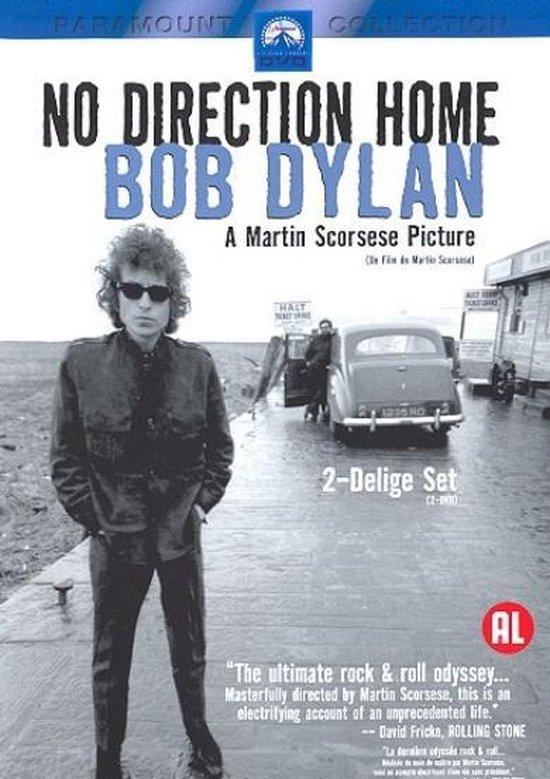 Cover van de film 'Bob Dylan - No Direction Home'