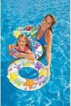Zwemband Transparant - 61cm   Zwemring Intex 59241