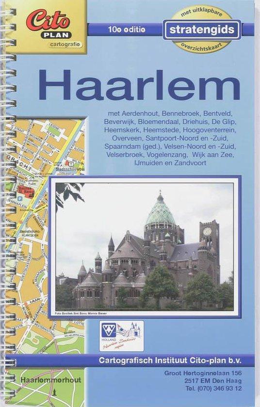 Citoplan Stratengids Haarlem - nvt |