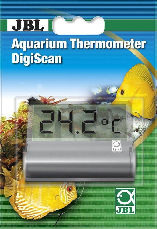 JBL Aquariumthermometer DigiScan Digitale, klevende aquariumthermometer