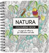 Kleurboek, Natura, 19,5x23 cm, 64, 1 Stuk