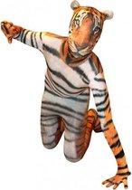 Originele morphsuit tijger voor kinderen 8-10 jaar (140)