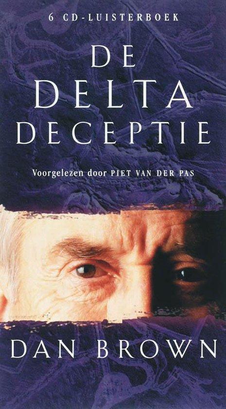 Omslag van De Delta Deceptie Luisterboek