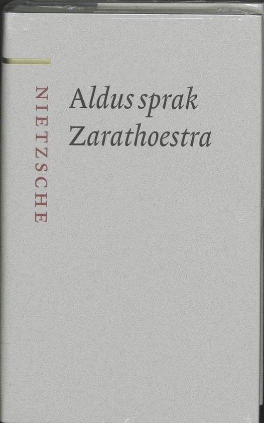 Boek cover Aldus sprak Zarathoestra van Friedrich Nietzsche (Hardcover)