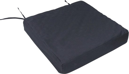 Aidapt - rolstoel kussen - 8.5 cm dik - 43 cm breed - 43 cm diep - extra zithoogte en comfort