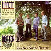 Britten: String Quartet No3, Op94; Tippett: String quartet No4