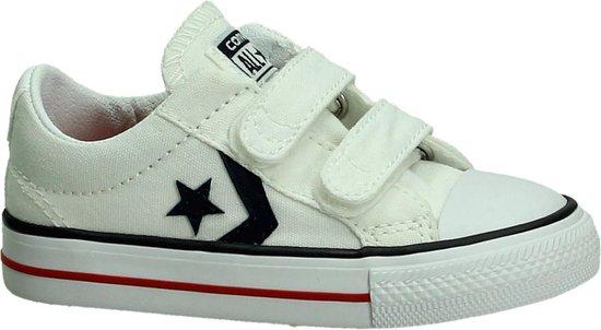bol.com | Converse Sp 2v ox - Sneakers - Jongens - Maat 26 - Wit