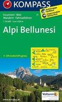 Kompass WK77 Alpi Bellunesi