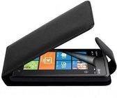 Zwart hoesje tasje Nokia  Lumia 900 +  Screenprotector!