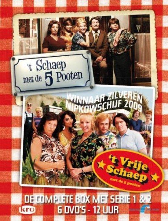 Cover van de film ''t Schaep Met De Vijf Pooten/ 't Vrije Schaep'