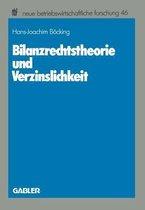 Bilanzrechtstheorie Und Verzinslichkeit