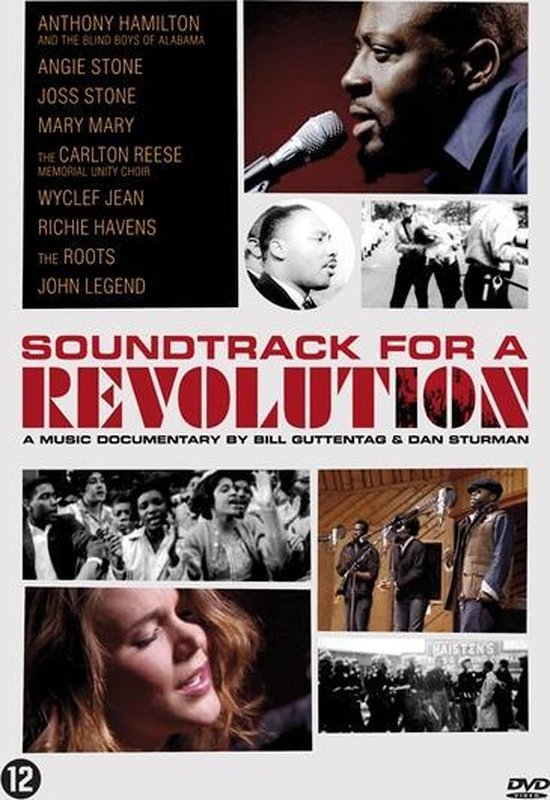 Cover van de film 'Soundtrack For A Revolution'