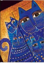 Paperblanks Mediterranean Cats Midi Lined Journal