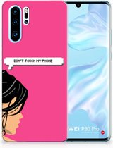 Huawei P30 Pro Uniek TPU Hoesje Woman DTMP