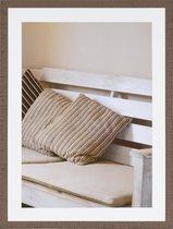 Fotolijst - Henzo - Driftwood - Fotomaat 60x80 - Bruin