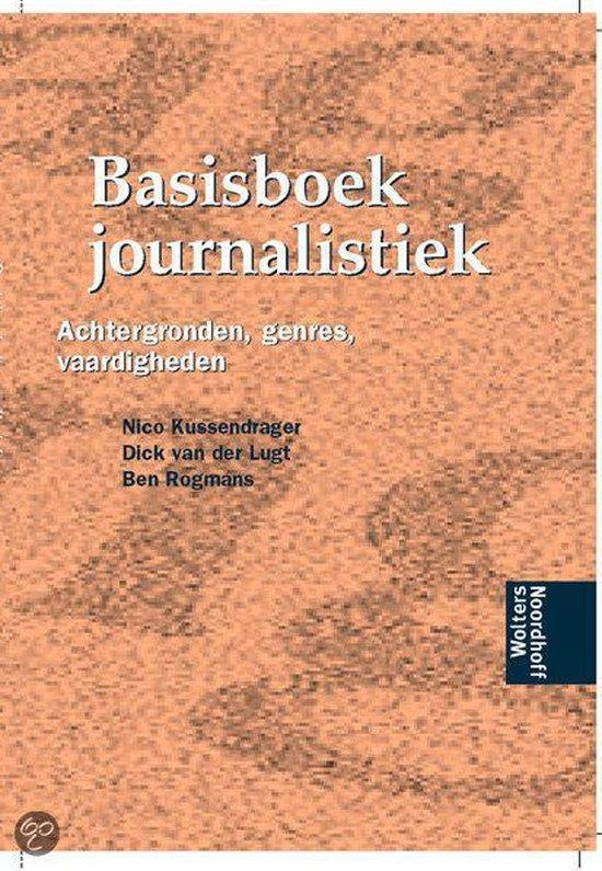 Basisboek journalistiek - Piet Bakker |