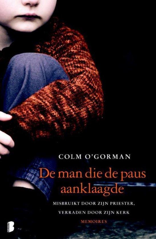 Cover van het boek 'De man die de paus aanklaagde' van Colm O'Gorman