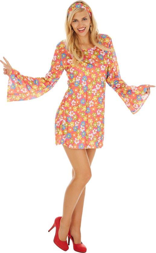 dressforfun 300925 Vrouwenkostuum Bloemenlady voor dames vrouwen XL verkleedkleding kostuum halloween verkleden feestkleding carnavalskleding carnaval feestkledij partykleding
