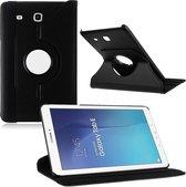 Samsung Galaxy Tab E 9.6 Inch SM - T560 / T561 Hoes Cover 360 graden draaibare Case Zwart