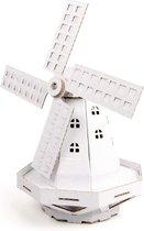 Leolandia bouwpakket Windmolen - Wit