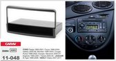 1-DIN FORD Fiesta 1995-2001; Focus 1998-2004; Galaxy 2000-06; Mondeo 1996-2003;Transit 2000-05 / JAGUAR S-Type 1999-2006 / GEELY Otaka 2007-2011 w/pocket inbouwpaneel Audiovolt 11-048