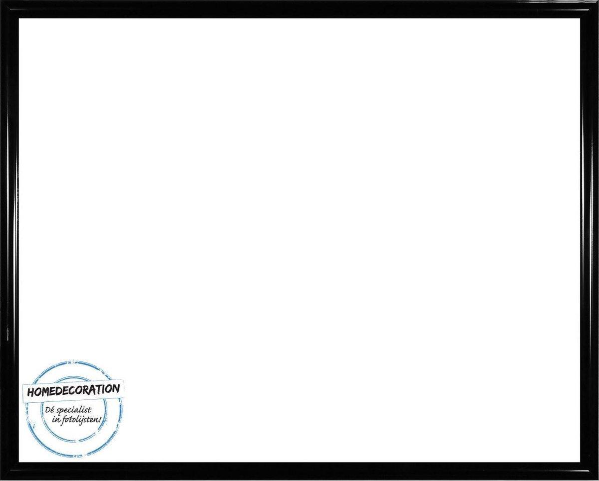 Homedecoration Biggy – Fotolijst – Fotomaat – 25 x 36 cm – Kunststof – Hoogglans zwart