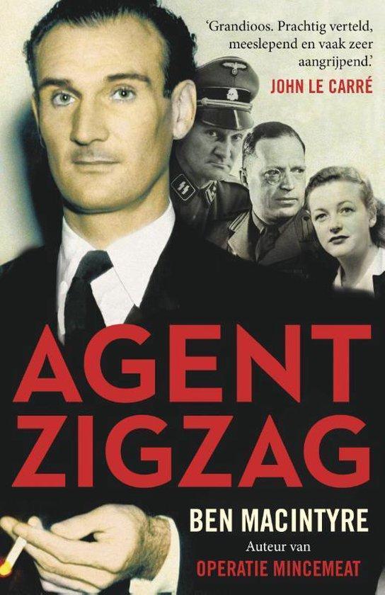 Boek cover Agent Zigzag van Ben Macintyre (Paperback)