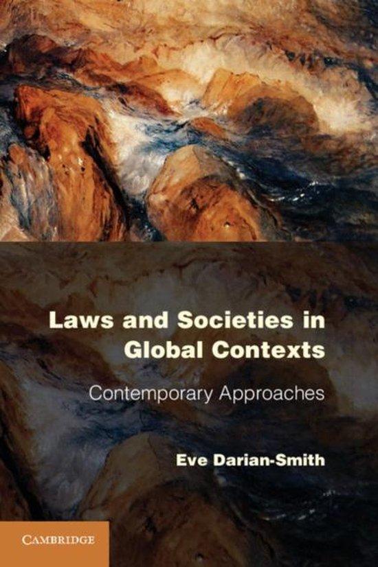 Boek cover Laws and Societies in Global Contexts van Eve Darian-Smith (Paperback)