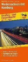 Niedersachsen-Ost, Hamburg. Straßen- und Freizeitkarte 1 : 200 000