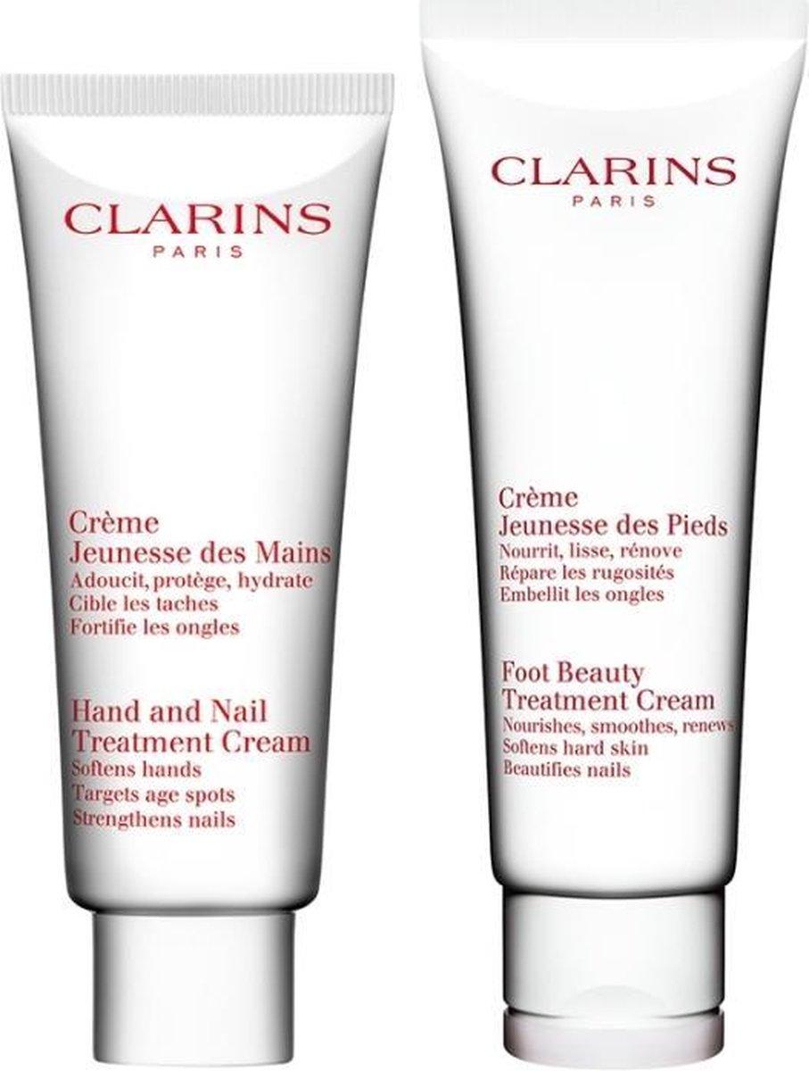 Clarins hand&nail creme 100 ml + foot beauty cream 125 ml - Clarins