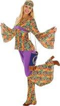 dressforfun 300945 Vrouwenkostuum Hippie voor dames vrouwen XL verkleedkleding kostuum halloween verkleden feestkleding carnavalskleding carnaval feestkledij partykleding